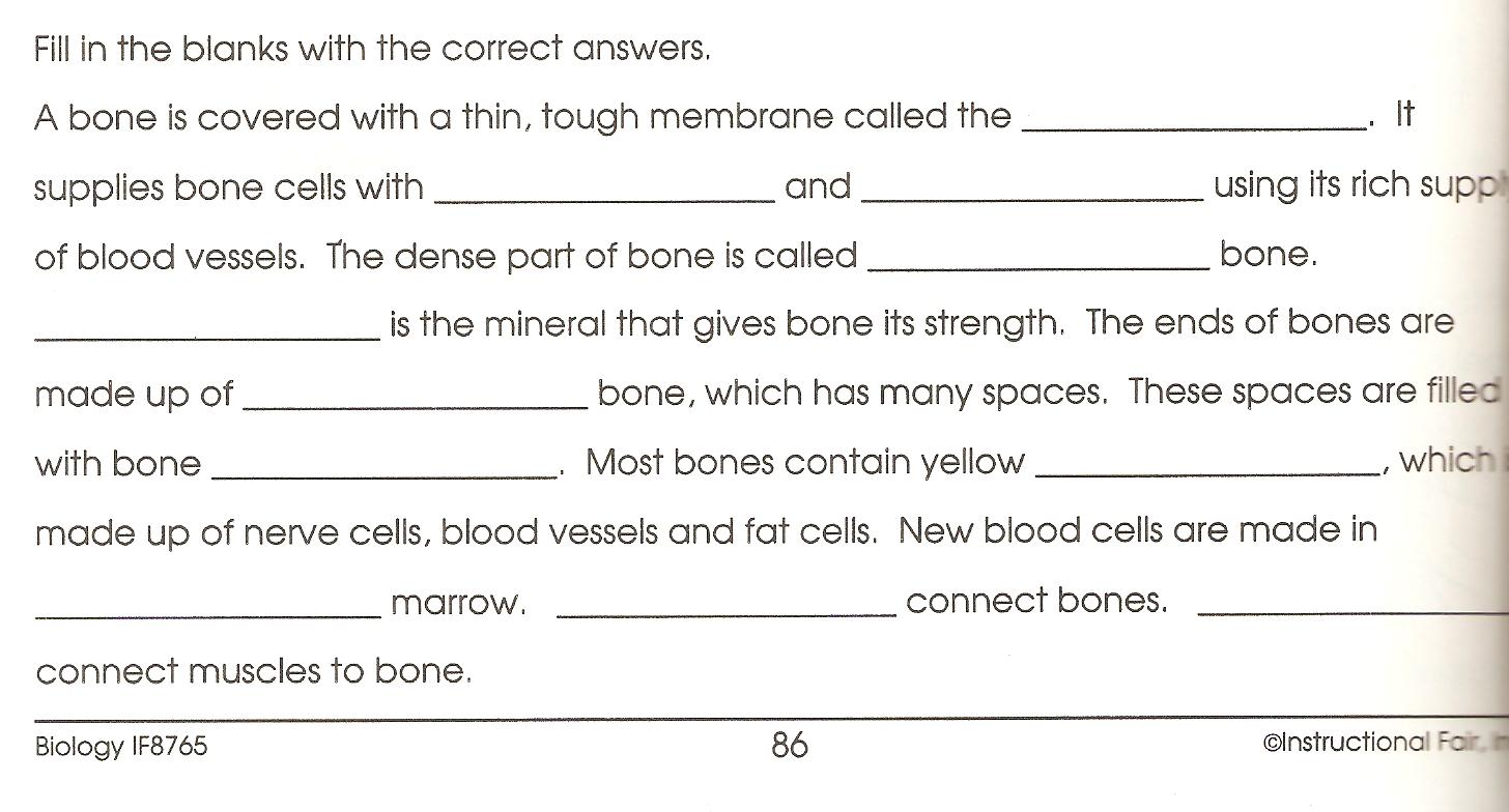 team71science Week 4 February 2327 – Bones Worksheet